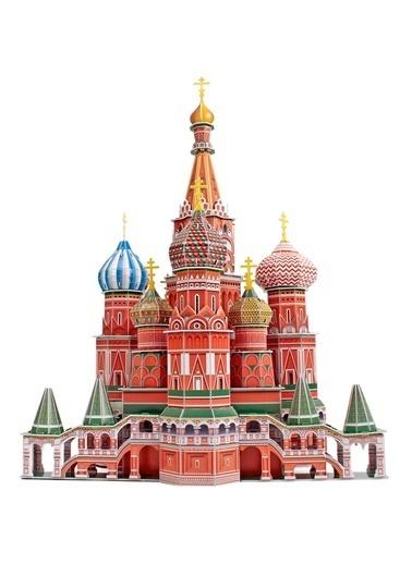 Cubic Cubic Fun 3D 173 Parça Puzzle St. Basil'S Cathedral Renkli